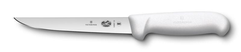 Victorinox HACCP Ausbeinmesser, gerade breite Klinge Weiß