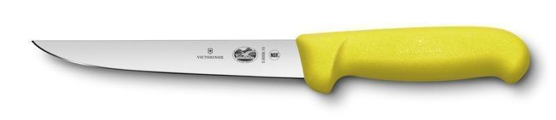Victorinox HACCP Ausbeinmesser, gerade breite Klinge Gelb