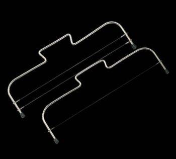 2 Drähte für Tortenbodenteiler Simplex und...