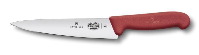 Victorinox HACCP Küchenmesser und Officemesser, 19 cm Rot